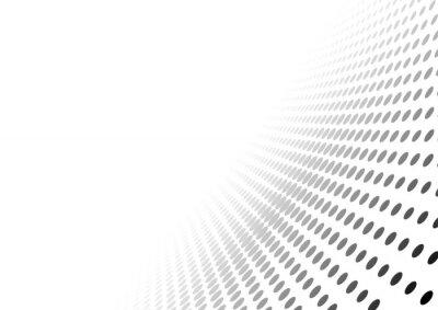 Sticker Abstrakt Punktierte Perspektive Hintergrund - Gradient Wirkung Illustration, Vektor