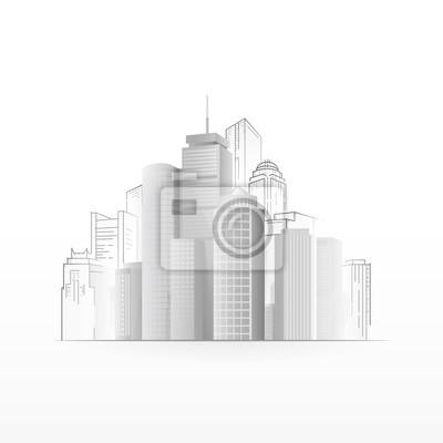 Abstrakt Stadt Hintergrund