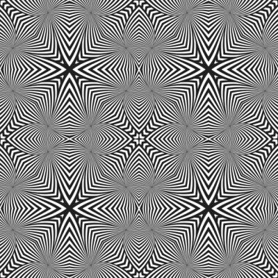 Sticker Abstrakte gestreifte nahtlose deko-muster.