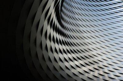 Sticker Abstrakte metallische Struktur mit repetitiven Muster Hintergrund