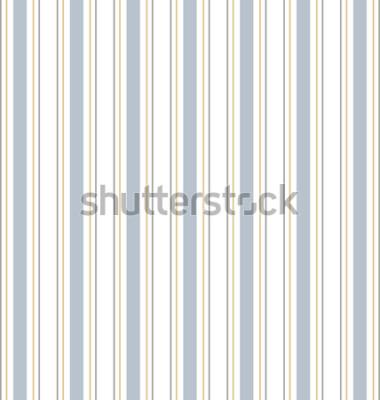 Sticker Abstrakter Vektor gestreiftes nahtloses Muster mit farbigen Streifen. Bunter Pastellhintergrund