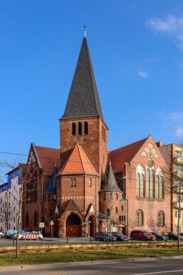 Sticker Adventkirche im Berliner Bötzowviertel