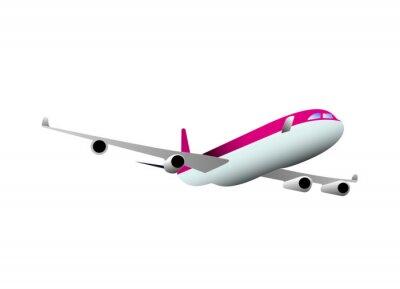Sticker aereo, vacanze, vacanza, volare