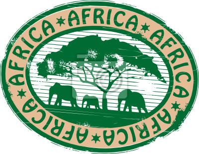 African Travel Stamp