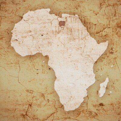 Sticker Afrika