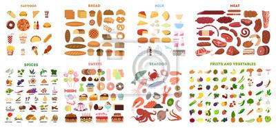 Sticker All food set.