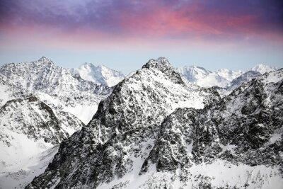 Sticker Alpen