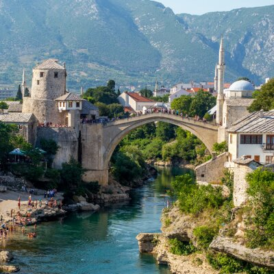 Sticker Alte Brücke in Mostar