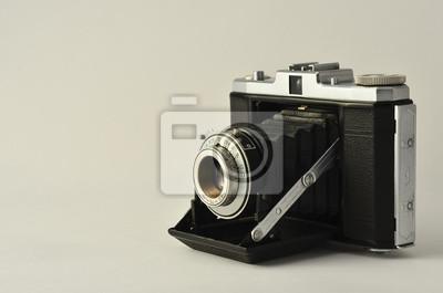 Alte Fotokamera, aus zweiter Hand