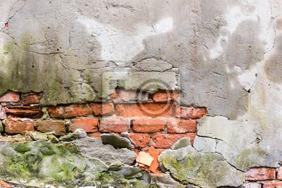 Alte geknackt Wand