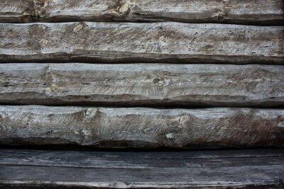 Alte Holz grau Planking Hintergrund. Grunge Textur