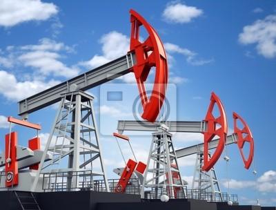 Alte rostige Öl-Pumpe-Buchse