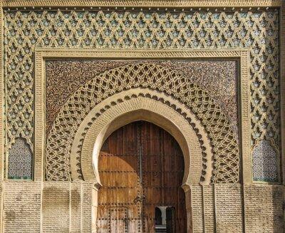 Sticker Alte Tore in Meknes, Marokko