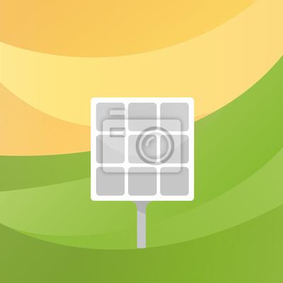 Alternative Energie. Sonnenkollektor.