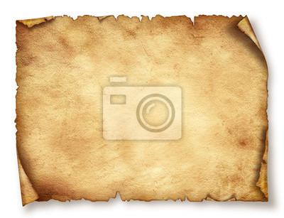 Altes Papierblatt, Jahrgang im Alter von Original-Hintergrund oder Textur