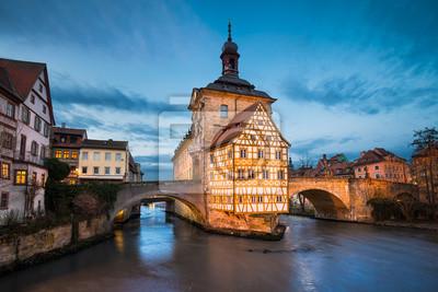 Altes Rathaus von Bamberg, Deutschland