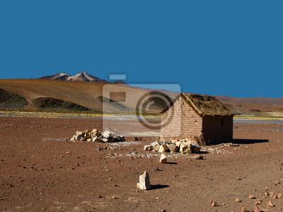 Sticker Altiplano Hütte