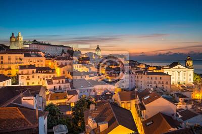 Altstadt von Lissabon, Portugal