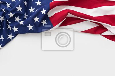 Sticker Amerikanische Flagge für Memorial Day, 4. Juli, Labor Day