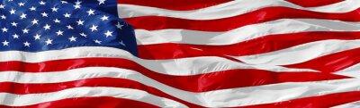 Sticker Amerikanische Flagge Hintergrund