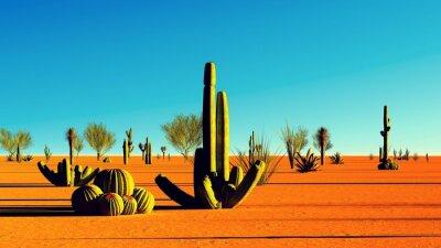 Sticker Amerikanischen Wüste