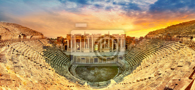 Sticker Amphitheater in ancient city of the Hierapolis