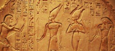 Sticker Ancient Egypt hieroglyphs