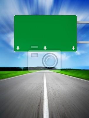 Anmeldung an der Straße