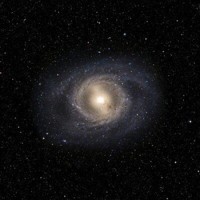 Sticker Ansicht Galaxy-System isoliert Elemente dieses Bildes möbliert von der NASA