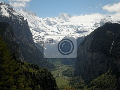 Ansicht von Lauterbrunnen-Tal