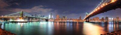 Sticker Ansicht von New York City