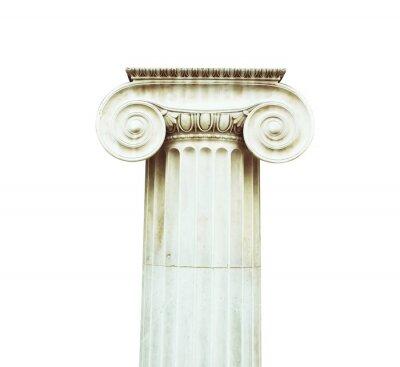 Sticker Antique column in doric style