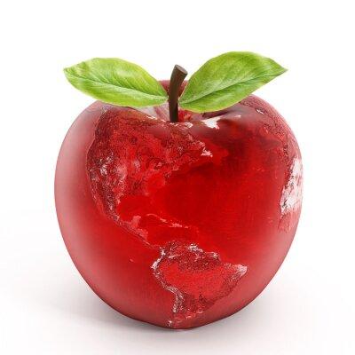 Sticker Apple-Erde