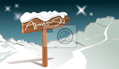 Après-Ski mit Bergpanorama