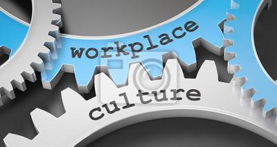 Sticker Arbeitsplatzkultur