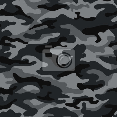 Nahtloses Muster Der Armee Tarnung In Den 1