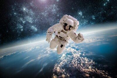 Sticker Astronaut Außen spac Elemente dieses Bildes von der NASA eingerichtet.
