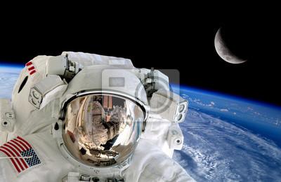 Astronaut Spaceman Isolated Helmet