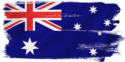 Sticker Australien Flagge