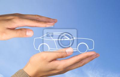 Auto in den Händen