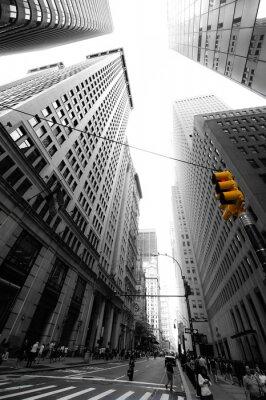 Sticker avenue neue yorkaise