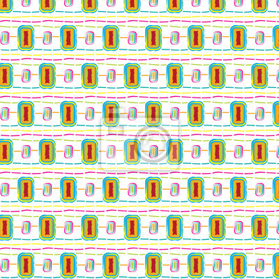Background with rectangular colorful