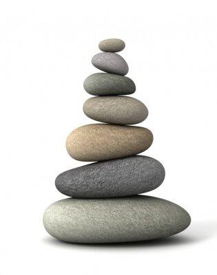 Sticker balance stones