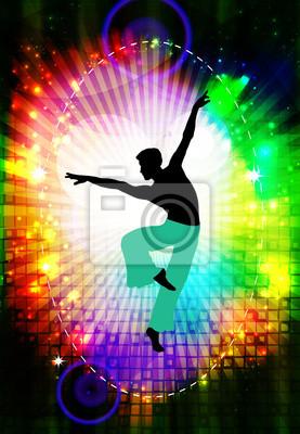 Ballet. Tanzen Illustration