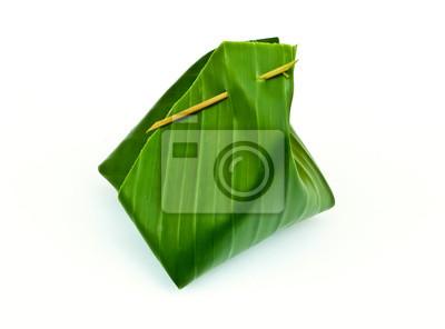Bananenblatt Paket von Thai Dessert