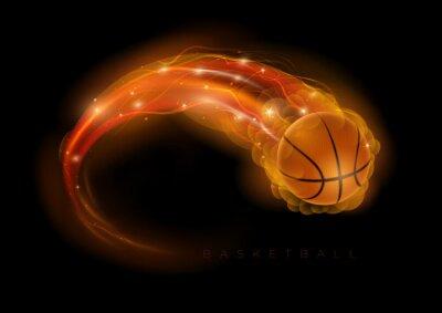 Sticker Basketball Kometen
