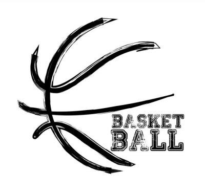 Sticker Basketball-Sport-