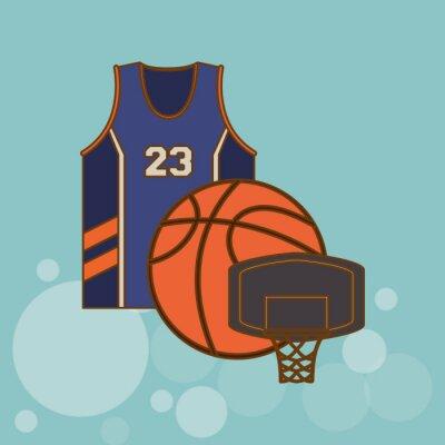Sticker Basketball-Symbol-Design