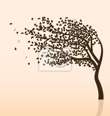 Baum und Wind