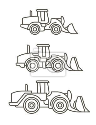 Baumaschinen: Radlader